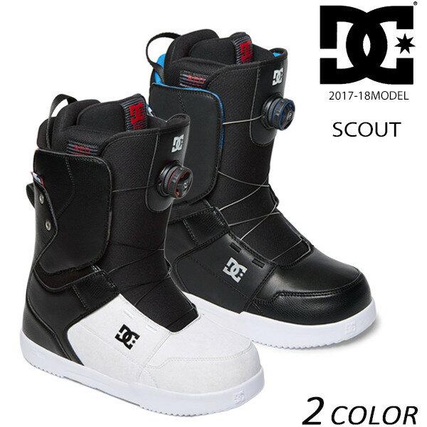 送料無料 SALE セール 20%OFF スノーボード ブーツ DC ディーシー SCOUT スカウト ADYO100027 17-18モデル メンズ EE K22
