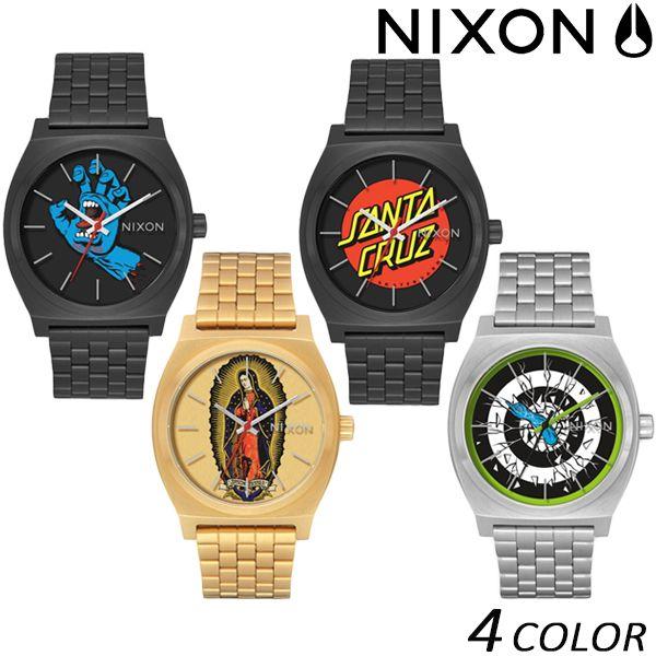 送料無料 時計 NIXON ニクソン TIME TELLER タイムテラー NIXON×SANTA CRUZ A045 EE K27