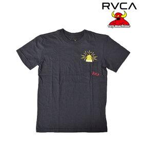 ジュニア 半袖 Tシャツ RVCA ル—カ × TOY MACHINE トイマシーン AI045-200 FF1 L18