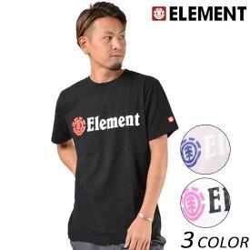 メンズ 半袖 Tシャツ ELEMENT エレメント AI021-200 G1S E29