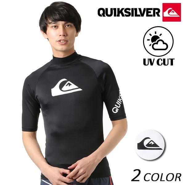 メンズ 半袖 ラッシュガード QUIKSILVER クイックシルバー QLY181001 FX1 C10