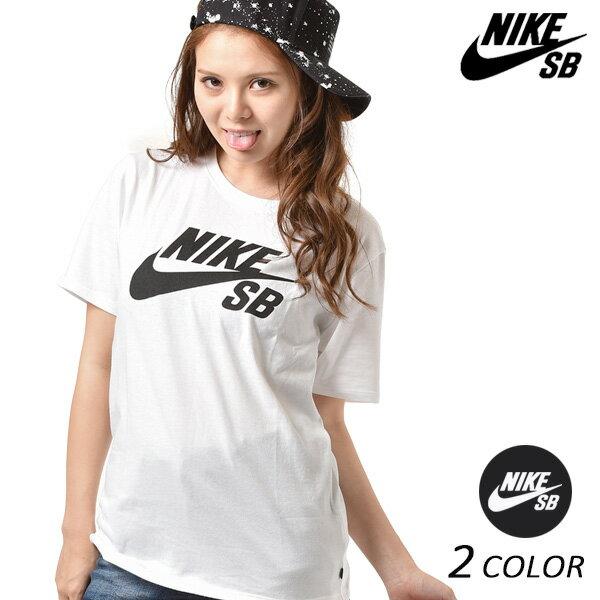 送料無料 レディース 半袖 Tシャツ NIKE SB ナイキエスビー SB DRI-FIT ロゴ 821947 FF A30