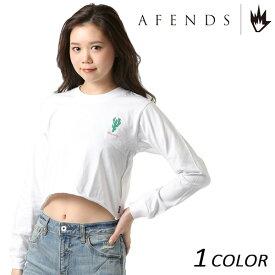 レディース 長袖 Tシャツ AFENDS アフェンズ Elson 18A2-02G FF1 C10
