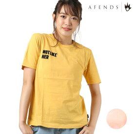 レディース 半袖 Tシャツ AFENDS アフェンズ Not Like Her 18A1-03G FF1 C16