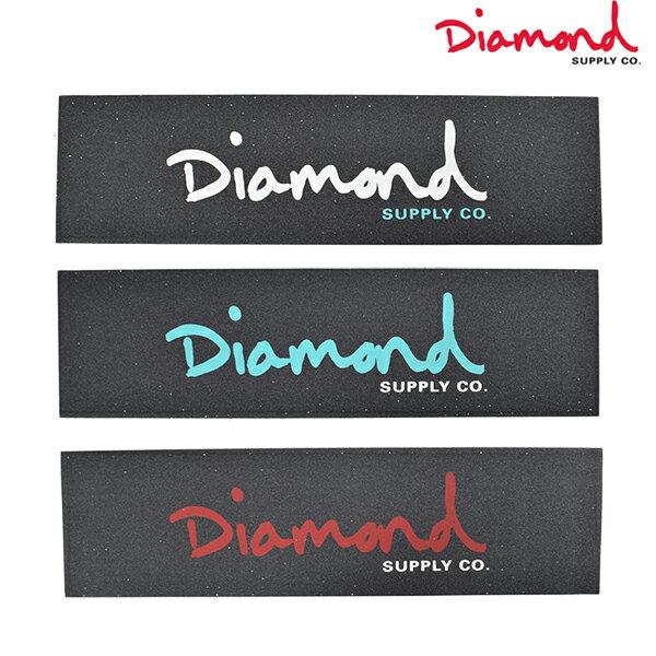 スケートボード デッキテープ Diamond Supply Co. ダイヤモンド サプライ GRIP TAPE OG SCRIPT Z00DMSB02 FF D16