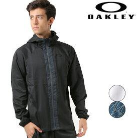 OAKLEY オークリー ENHANCE DOUBLE CLOTH HOODY JACKET メンズ パーカー アウター ジャケット 412555JP FF1 D19 【返品不可】