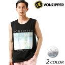 VONZIPPER ボンジッパー メンズ タンクトップ AI211-350 G1S E29