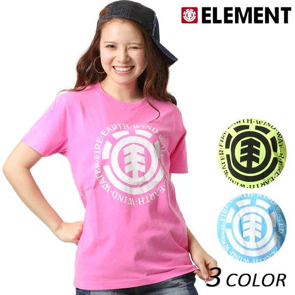 SALE セール 20%OFF レディース 半袖 Tシャツ ELEMENT エレメント AI023-208 FX2 E4