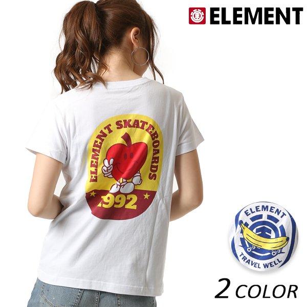 SALE セール 20%OFF レディース 半袖 Tシャツ ELEMENT エレメント AI023-209 FX2 E4
