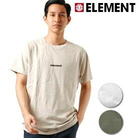 メンズ 半袖 Tシャツ ELEMENT エレメント AI021-241 G1S E29