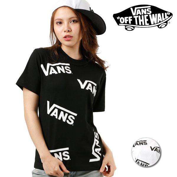 SALE セール 20%OFF レディース 半袖 Tシャツ VANS バンズ VA18HS-GT06 FF2 E26