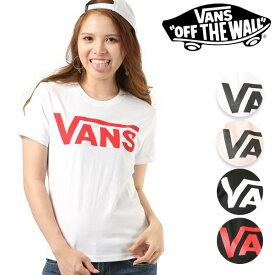 レディース 半袖 Tシャツ VANS バンズ VANS-GT01 GG E19