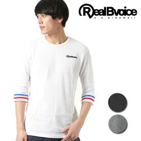 Real.B.Voice リアルビーボイス メンズ 七分袖 Tシャツ 10011-10002 FF1 C9