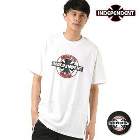 メンズ 半袖 Tシャツ INDEPENDENT インディペンデント 95BTG RING 51881412 FF1 E29