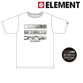 メンズ 半袖 Tシャツ ELEMENT エレメント AI021-P20 ムラサキスポーツ限定 ご当地商品 FF2 C16