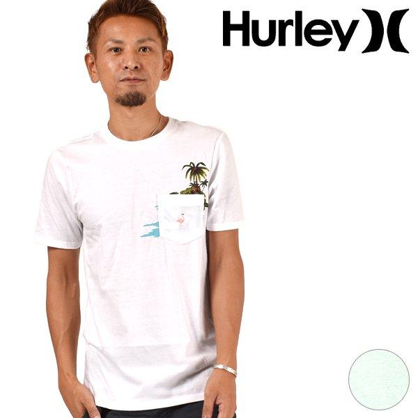 メンズ 半袖 Tシャツ Hurley ハーレー AJ1773 FF3 G5