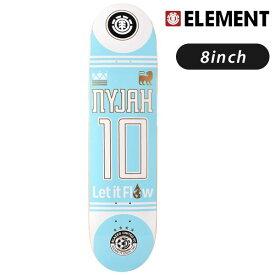 スケートボード デッキ ELEMENT エレメント BLAZED NYJAH AI027-096 GG G21