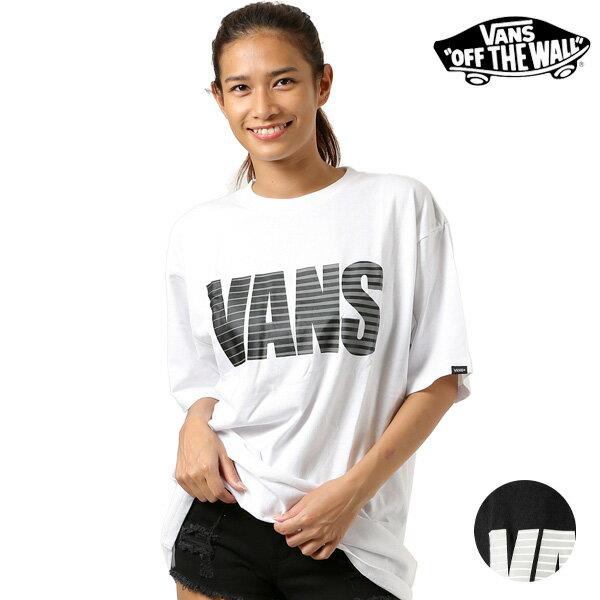 レディース 半袖 Tシャツ VANS バンズ VA18HS-GT53MS ムラサキスポーツ限定 FF2 G21 MM