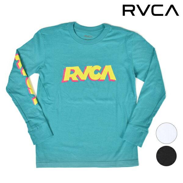 キッズ ジュニア 長袖 Tシャツ RVCA ルーカ AI046-050 FF3 J29