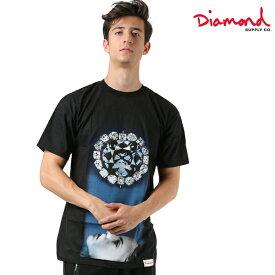 Diamond Supply Co. ダイヤモンド サプライ FACE DOWN S/S TEE メンズ 半袖 Tシャツ C18DMPA025 FF3 K6