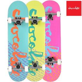送料無料 スケートボード コンプリートセット chocolate チョコレート CMPPC3 MR PRICE POINT COMPLETES 3 ムラサキスポーツ限定 FF K27