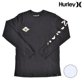 ジュニア キッズ 長袖 Tシャツ Hurley ハーレー AR4111 トップス カットソー 男の子 女の子 ボーイズ ガールズ ロンT FF3 K16