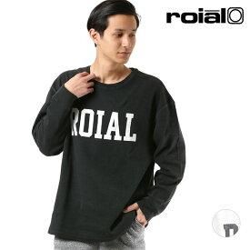 メンズ 長袖 Tシャツ roial ロイアル R804MDT01 GG1 L28