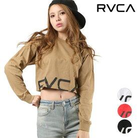 レディース 長袖 Tシャツ RVCA ルーカ AJ043-050 クロップド丈 GG1 L27