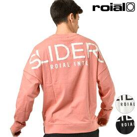 メンズ 長袖 Tシャツ roial ロイアル R804MDT04 トップス カットソー 春 秋 冬 カジュアル サーフカジュアル ロングスリーブTシャツ GG1 A11