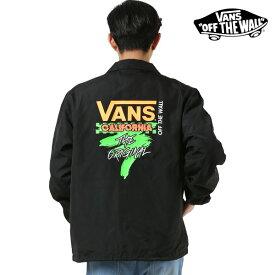 メンズ ジャケット VANS バンズ VA19SS-MJ08 コーチジャケット GG1 A19