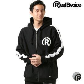 メンズ パーカー Real.B.Voice リアルビーボイス 10051-10134 ジップアップ GG1 A19