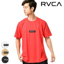 メンズ 半袖 Tシャツ RVCA ルーカ AJ041-231 トップス 春夏秋 シンプル ロゴ GG1 B13