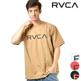 メンズ 半袖 Tシャツ RVCA ルーカ AJ041-233 トップス 春夏秋 シンプル ロゴ GG1 B13
