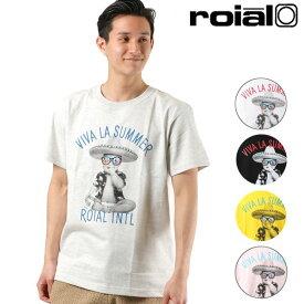メンズ 半袖 Tシャツ roial ロイアル R901MST03 GG1 C9