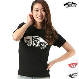 レディース 半袖 Tシャツ VANS バンズ VANS-GT02A GG1 C4
