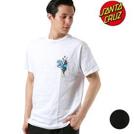 メンズ 半袖 Tシャツ SANTA CRUZ サンタクルーズ WALL HAND 50291404 ムラサキスポーツ限定 GG1 C30