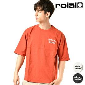 メンズ 半袖 Tシャツ roial ロイアル R901MDT02 トップス シンプル トパンガ TOPANGA GG1 C29