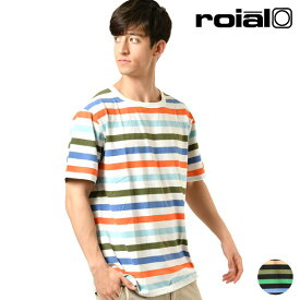 メンズ 半袖 Tシャツ roial ロイアル R901MDT05 トップス ボーダー GG1 C29