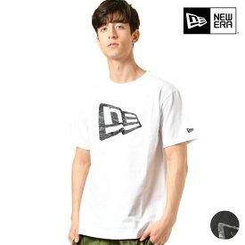 メンズ 半袖 Tシャツ NEW ERA ニューエラ 11901378 11901379 SS COTTON TEE TS LINE CAMO FL タイガーストライプ GG1 C23