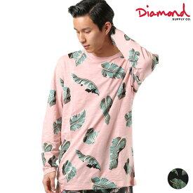 メンズ 長袖 Tシャツ Diamond Supply Co. ダイヤモンド サプライ A19DMTF005 DESI TROPICAL PALADISE LS GG1 D12