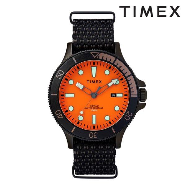 送料無料 時計 TIMEX タイメックス TW2T30200 アライド コーストライン オレンジ×ブラック GG D9