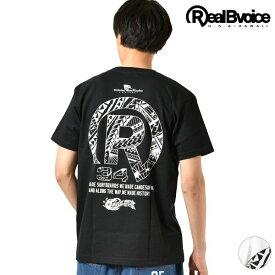メンズ 半袖 Tシャツ Real.B.Voice リアルビーボイス 10101-10306 TATOO R POCKET T-SHIRT GG2 D19