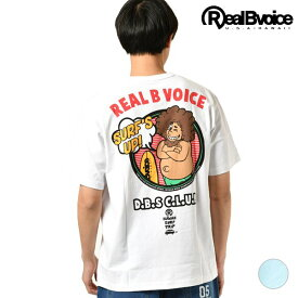 メンズ 半袖 Tシャツ Real.B.Voice リアルビーボイス 10101-10308 DEBESO SURF'S UP T-SHIRT GG2 D19