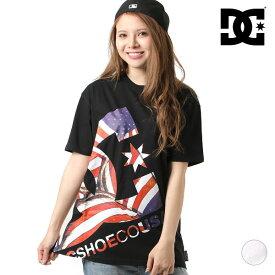 レディース 半袖 Tシャツ DC ディーシー 5226J918W 19 PRINT BIG STAR SS GX2 D30