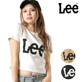 レディース 半袖 Tシャツ Lee リー LT2669 CROPPED TEE GG1 D25