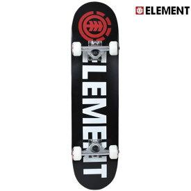 送料無料 キッズ スケートボード コンプリートセット ELEMENT エレメント AJ027-412 BLAZIN 7.37インチ GG D29