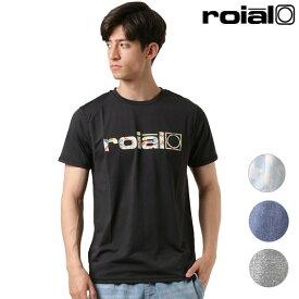 メンズ 半袖 Tシャツ ユーティリティ 水陸両用 ラッシュガード roial ロイアル R901MRG01 GG1 E11