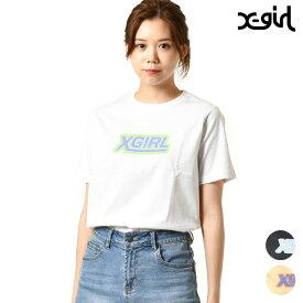 レディース 半袖 Tシャツ X-girl エックスガール 05191158 ムラサキスポーツ限定 GG1 E9