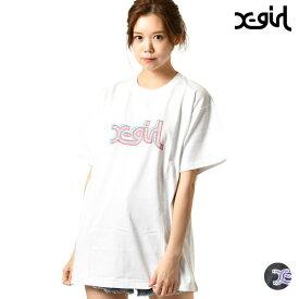 レディース 半袖 Tシャツ X-girl エックスガール 05191160 ムラサキスポーツ限定 GG1 E9