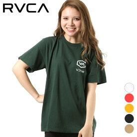 レディース 半袖 Tシャツ RVCA ルーカ AJ043-240 ビッグシルエット GG2 E13